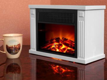 Электрический камин с эффектом пламени
